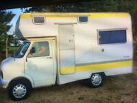 Bedford CF MK1 Glendale Diesel motorhome (tax and mot exempt ) ready to use