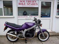 1997 Suzuki GS400E 36,564km (22,719 miles) Metallic Purple 400cc Twin-Cylinder Manual GS 400 E