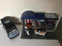Play Mobile Police Station and Van.