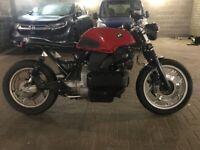 BMW K100 Cafe' Racer custom build modified
