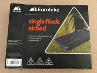 Eurohike Inflatable Single Airbed - Used Once Only