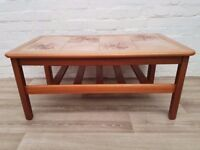Tiled Coffee Table (DELIVERY AVAILABLE FOR THIS ITEM OF FURNITURE)
