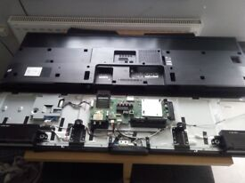 SONY KDL-55W755C FULL SET OF BOARDS INC SPEAKERS,POWER BUTTON,WIFI.CABLES