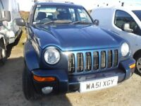 JEEP CHEROKEE 2.5 CRD Limited 5 Door Station Wagon, 2.5 Ltr, Leather Trim,