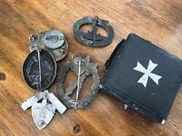 7x WW2 German badges