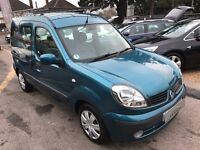2006/56 RENAULT KANGOO 1.6 16V EXPRESSION 5 DOOR,AUTOMATIC,VERY LOW MILEAGE,IN EXCELLENT CONDITION