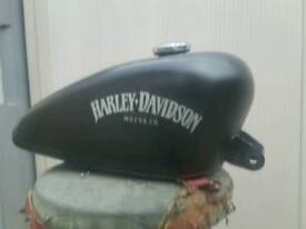 Harley davidson petrol fuel tank with new fuel tap