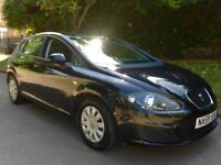 2009 Seat Leon 1.9 TDI BLACK + BURY SCREEN + SERVICED