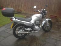 Sym xs 125 , 65 plate ,low mileage, very good condition,must be seen