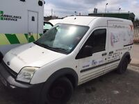 FORD TRANSIT CONNECT 1.8L PETROL&LPG(GAS) 2005REG FOR SALE