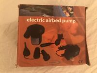 Electric Airbed Pump (almost new)
