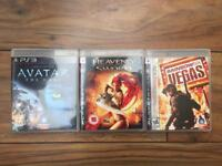3 PS3 games - £6 for the lot! Avatar, Heavenly Sword, Rainbow Six Las Vegas - Like New