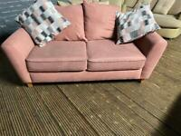 HARVEYS FABRIC SOFA 2 SEATER IN EXCELLENT CONDITION