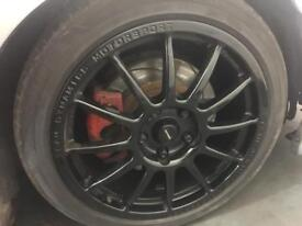 Team Dynamic Pro race 1.2 wheels + Tyres