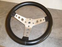 "Classic Mini Steering Wheel 13"" Kit Car, Austin Rover, Kit Car."