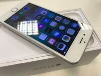 Apple iPhone 6 - 16GB - Silver Edition - Network Unlocked - ONLY £115- Boxed & Accessories