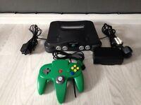 Nintendo 64 console n64