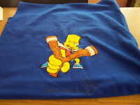 Bart Simpson Royal Blue sleeping bag
