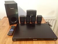 Panasonic 3D DVD & BluRay player & speakers
