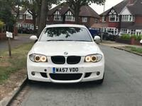 BMW 120d M SPORT LCI FACELIFT HATCHBACK 6 SPEED MANUAL WHITE