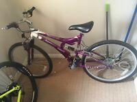 Girls/woman's mountain bike