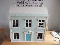 Lovely Dolls House with furniture, very nice condition