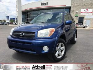 2005 Toyota RAV4 4WD, Heated Seats, Keyless Entry, Alloys