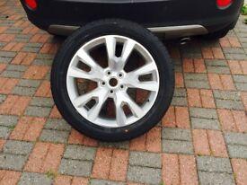 Vauxhall Antara Alloy Wheel with Tyre Hankook 235/50R19 99H