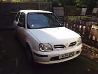 Nissan Micra, Low Mileage, Low insurance, great runner, good first car. £200 O.N.O