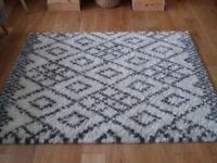 MINT rugs - Grey & Cream 120 x 170