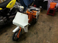 Classic Ariel 3 Wheeler Trike Moped BSA 1973 Runs well & V5c Project or Restoration