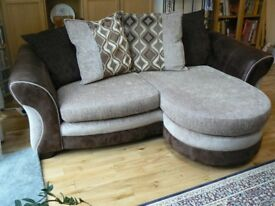 EX DISPLAY DFS CORNER SOFA SET DELIVERY FREEE