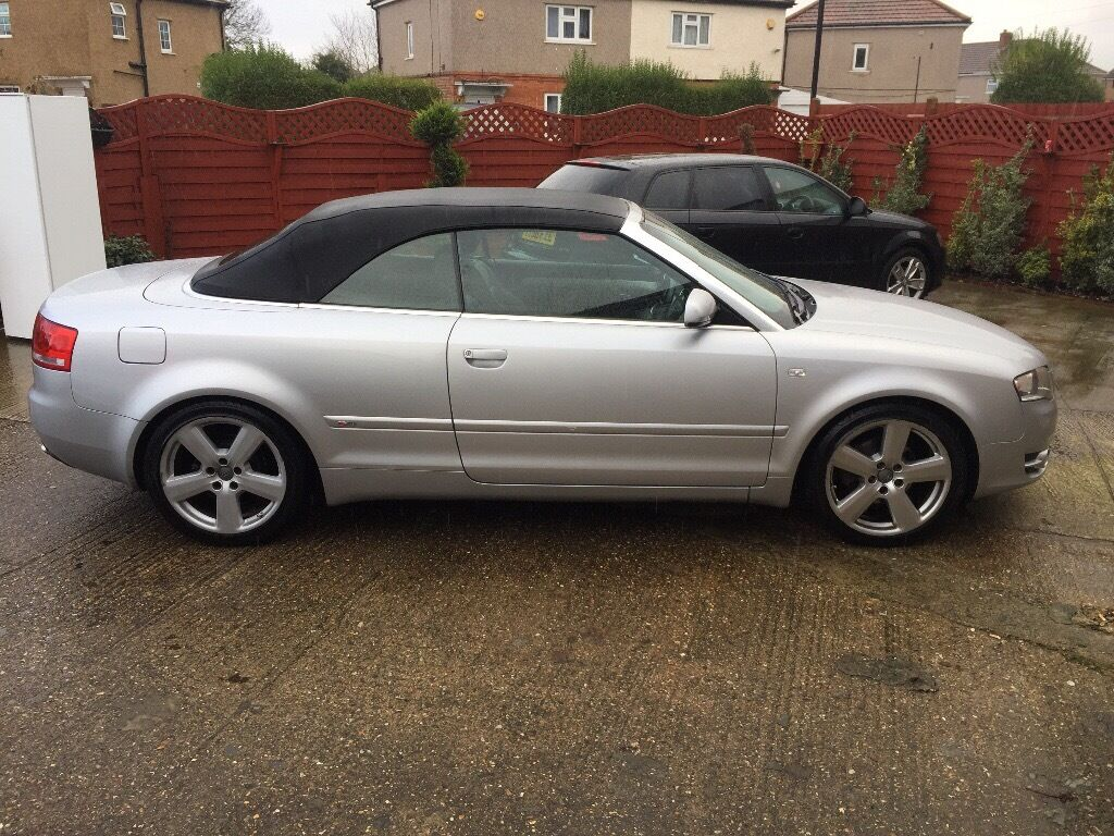 Audi a4 convertible 2006 mile 152000 | in Slough ...