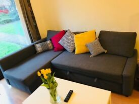 Sofa bed for sale in excellent condition, bought a year ago