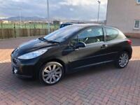 31000 FSH Peugeot 207 1.6 GT 16 valve 3 door sports hatch 08reg mot February 2019