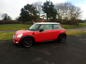2008 MINI COOPER 1.6 R56 GEN 2 RED FACELIFT IMMACULATE WITH LOW MILEAGE BEST FOR SALE!
