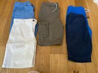 Summer shorts job lot boys 12-13yrs
