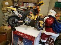 Motocross kids battery operated bike