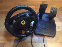 Thrustmaster Ferrari GT Racing Wheel for PC and PS3