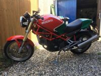 Ducati monster m750 mike hailwood replica paint