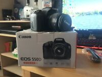 Canon 550D 18-55mm & f/2.8 MACRO USM 100mm