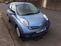 07 NISSAN MICRA SPIRITA _1240 CC.5DOOR HATCHBACK.PETROL.MANUAL.