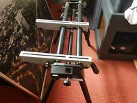 Evolution Mitre Saw Stand Workstation Bench With Extensions Good Cond £40 ONO
