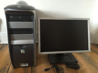 Computer PC 2.66GHZ Windows 10 6GB RAM + Monitor + Mouse - £95 ONO