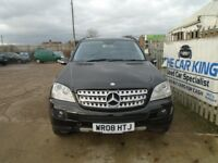 MERCEDES-BENZ M CLASS 3.0 ML320 CDI Sport 7G-Tronic 5dr Auto (black) 2008