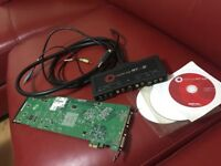 Matrox RTX2 Video editing HD Board and Breakout box