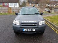 2002 Land Rover Freelander 2.0 TD4 GS 5dr Manual @07445775115