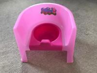 Peppa Pig potty pink kids toddler training