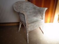 Vintage Lloyd Loom chair