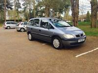 ZAFIRA 2003-1.6 PETROL 7 SEATER HPI CLEAR EXCELLENT CONDITION IN OUT FULL SERVICE CLEAN TOW BAR FIT